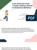Pengaruh Aktivitas Fisik Terhadap Kadar Glukosa Darah Penderita Diabetes Melilitus