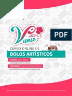 2019 Apostila Curso Bolos Artisticos