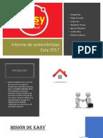 PPT Informe de Sostenibilidad Easy 2017