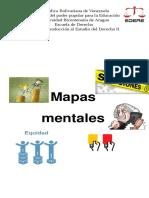 Mapas Mentales 1er La Justicia y La Equidad 2do Diferencia Entre Coercibilidad, Sanción y Coacción