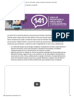 Linea 141 _ Portal ICBF - Instituto Colombiano de Bienestar Familiar ICBF