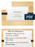 unit 5 - dna mutations