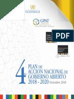 Plan de Acción Nacional de Gobierno Abierto 2018-2020