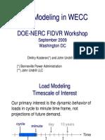 5 6 Kosterev Undrill Load Modeling in Wecc