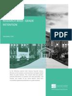 Research Brief- Grade Retention