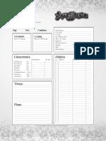 Ars Magica - Character Sheet