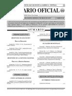 Diario Oficial 5 de Mayo 2017
