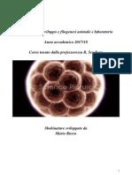 Biologia dello sviluppo (Sbobinature). Anno accademico 2017-18 , R. Scudiero (E) (file 1).pdf