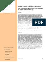 Penetração Acelerada de Ions de Cloreto
