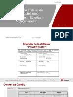 Estandar de Instalacion Powercube