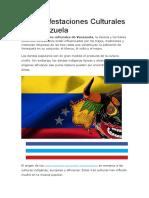 10 Manifestaciones Culturales de Venezuela