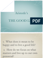 Aristotle - The Good Life