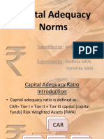 Capital Adequacy Norms