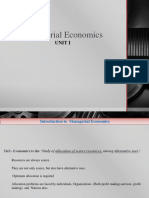 Introduction of Managerial Economics1