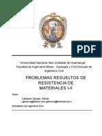 Problemas Resueltos de Resistencia de Materiales I – II
