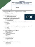 Evaluación-Auditoria, Fiscalización e Inspeccion de Seguridad