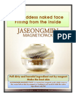 Magnetic Facial Mask Pack in English Version