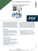 Dispositivo Medicion y Regulacion Prominent Dulcotrol Agua Potable