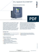Dispositivo Medicion y Regulacion Prominent Dulcometer d1cb d1cc