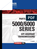 Allison Transmission 5000-6000 Series Parts Catalog