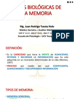Bases Biológicas de La Memoria