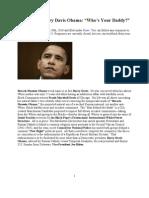 Communist Barry Davis Obama