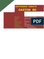 GASTON BERGER