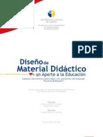 Diseño de material didáctico