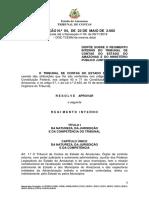 REGIMENTO INTERNO - RES. 04-2002 Alterado at Resoluo n 04-2018-Convertido