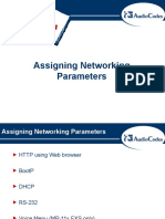 assigning Networking
