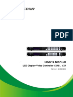 Novastar LED Display Video Controller VX4 Series User's Manual