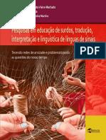 Pesquisas Educacao Surdos, Tradução, Interpretação e Linguística da Língua de Sinais
