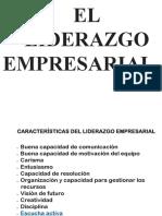 El Liderazgo Empresarial