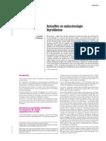 Actualités en Endocrinologie Thyroïdienne