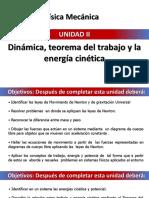 UNIDAD II. DINAMICA, TEOREMA DEL TRABAJO Y LA ENERGIA CINETICA.pptx