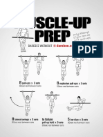 Muscle Up Prep Workout