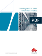 CloudEngine 6870 Series Data Center Switches Data Sheet