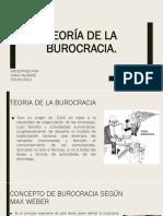 T DE LA BUROCRACIA
