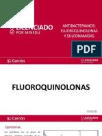 Antibacterianos, Fluoroquinolonas y Sulfonamidas