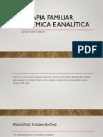 Terapia Familiar Sistemica e Psicanalise
