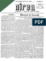 Unirea 30 noiembrie 1929