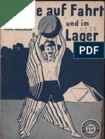 Spiele auf Fahrt und im Lager - Heinz Mägerlein