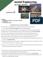 Chapter 5_Green House Effect_Acid Rain_Ozone Depletion