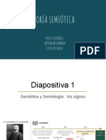 Teoría Semiótica