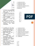 Revisões Gramática (Com Soluções)