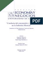 Conducta Del Consumidor y Pirateria