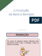Produção de bens e serviços -Economia Cursos Profissionais