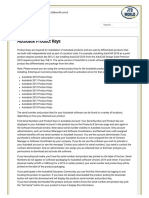 Autodesk Product Keys - JTB World