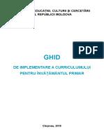 Ghid Curriculum Primare Rom 5