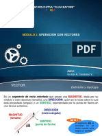 Módulo 3 - Operación Con Vectores